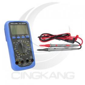 WELLINK HL-2020A 多功能數位電錶(自動關機)