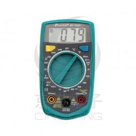prosKit 寶工 3 1/2數位電錶-帶溫度測試 MT-1233C