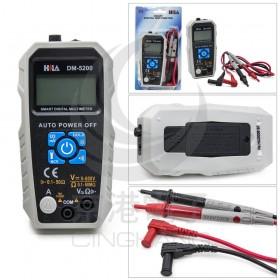 HILA海碁 DM-5200 智慧型數字電錶 全自動功能判別