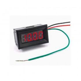 0.36四位元LED數位直流電壓錶頭-紅光 40.5*24*17.5mm