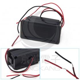 新款藍色防水6V-60V電動車電瓶蓄電池電量表