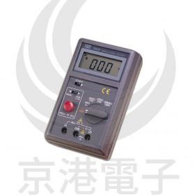 絕緣數位式高阻計 TES-1600