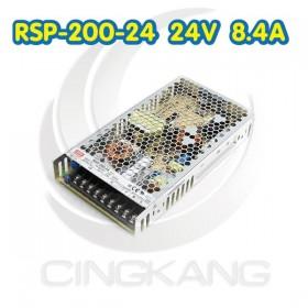 明緯 電源供應器 RSP-200-24 24V 8.4A