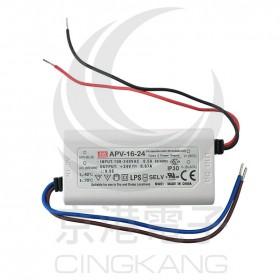 明緯 電源供應器 APV-16-24 24V 0.67A