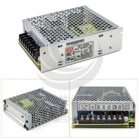 明緯 雙組交換式電源供應器 RT-65D 5V4A/ 12V1A / 24V1.5A