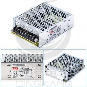 明緯 雙組交換式電源供應器 RT-65C 5V5A / 15V2.2A / -15V0.5A