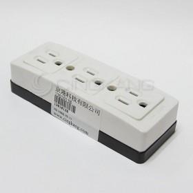 H型插座 3P 3格 15A LK3233K