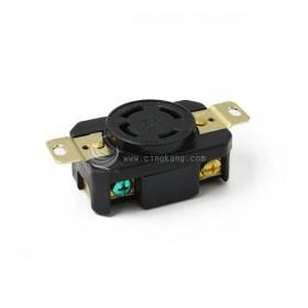 引掛式暗插座 LK2434F 4P 30A 480V