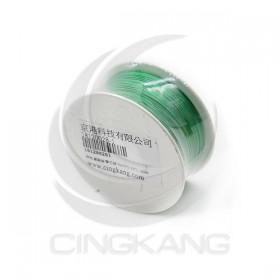綠色 鍍銀線/單芯線 30AWG 105℃ 1000ft