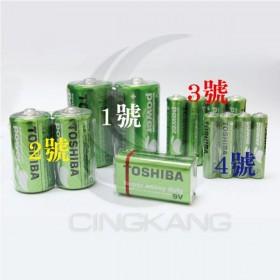 東芝碳鋅電池 2號 (2入)