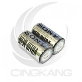 SONY 碳鋅電池 2號(2入)