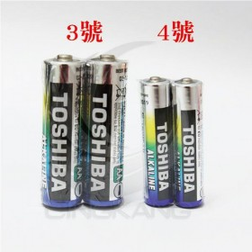 東芝鹼性電池 4號 (2入)