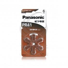國際牌 空氣助聽器電池 PR41(312) (6入/卡)