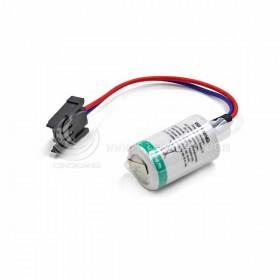 SAFT LS 14250 鋰電池 3.6V (含線帶8號接頭)