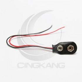 9V電池扣 直型 帶線(5入)