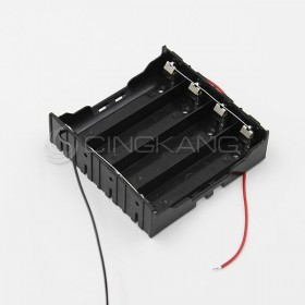電池盒(帶線) 18650 4顆 (並聯)