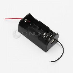 電池盒(帶線) 單顆2號