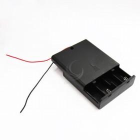 電池盒(帶線+開關+蓋子) 4顆3號
