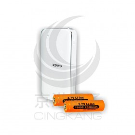 KINYO CQ-450 多功能雙槽鋰電池充電器+行動電源