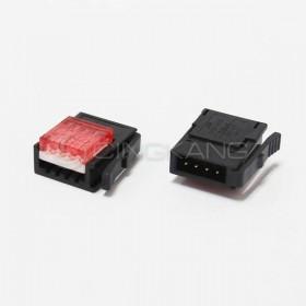 3M 37104-3101-000 FL 4PIN 紅色 公頭 24-26AWG