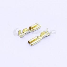 開放型母端子KST 606LR 金色 22~26AWG (100PCS/入)