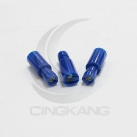 子彈型尼龍絕緣母端子FN2-A(2mm)藍色(50入)