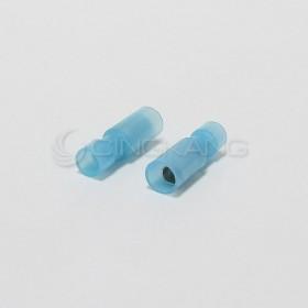 子彈型尼龍絕緣公端子 FRFNY 2-156 (16-14AWG)(50入)(藍)