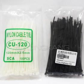 尼龍紮線帶 CU-120G 2.5*120mm/100PCS
