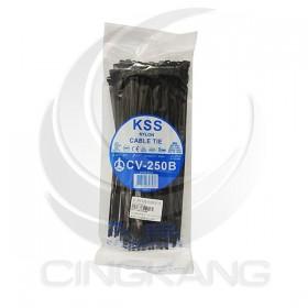 KSS 尼龍紮線帶(黑) CV-250B 250*4.8mm/100PCS