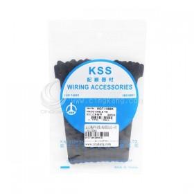 KSS MGT-135BK 黏扣式紮線帶(黑色) 20PCS/包 12*135mm