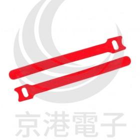 0350 黏扣式紮線帶 MGT-210 紅色 (20PCS/包)