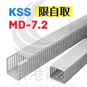 KSS MD-7.2 100*50*8mm 開放式配線槽 1.7M