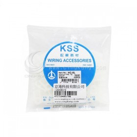 KSS 0510 紮線固定座 HC-0L 最大紮線帶寬度5.0mm(100PCS/包)