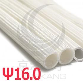 玻纖矽管 ψ16.0 白色 1.5KV -10℃~+200℃ 1米長