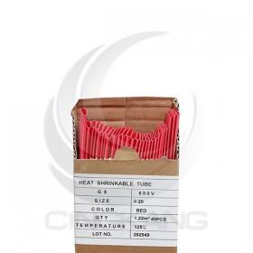 熱縮套/熱縮管/熱收縮套 紅/厚 G5 20.0 1.22M