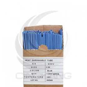 熱縮套/熱縮管/熱收縮套 藍/厚 G5 20.0 1.22M