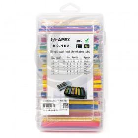 G5 彩色熱縮套管組合 160PCS/盒