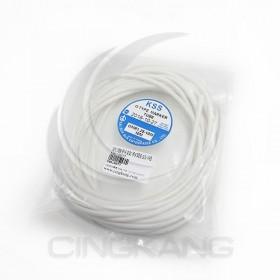 O型空白膠管 白色 OMR-1.25 10M (16AWG)