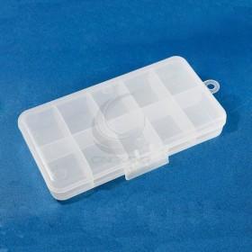 迷你收納盒10格 K-706-1 177x88x28mm