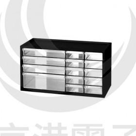 樹德SHUTER小幫手零件分類箱 A9-2110 (黑色)