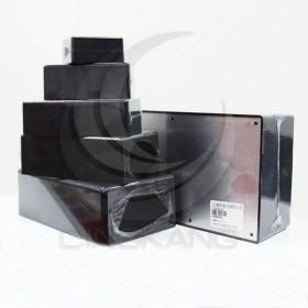 萬用盒/塑膠盒 PS-4(黑色鋁底)(145*85*50)
