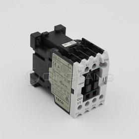 東元電磁接觸器 CU-11-B51b 3A1b AC24V NC/NC