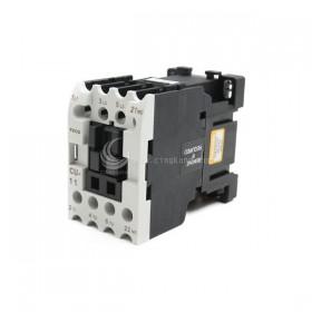 東元電磁接觸器 CU-11-B51b 3a1a AC24V NO AC1/25A <客訂品>