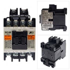 富士電磁接觸器 SC-03 220V 1A AC1/20A AC3/11A NO