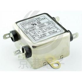 EMI FILTER YC-10T1單π迴路10A迴路電源濾波器AC250V(插腳)