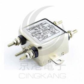 EMI FILTER YD-10T4L2 10A 雙π迴路 電源濾波器AC250V