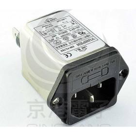 EMI FILTER YL-06T1 6A+FUSE座 3P單π EMI電源濾波器