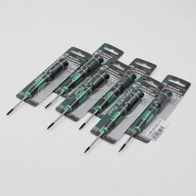 prosKit 寶工SD-081-T10H 防滑鉻鉬鋼精密起子/星孔T10H
