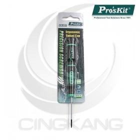 Pro'sKit 寶工 SD-081-P2 綠黑十字精密起子 #00*50