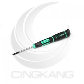 prosKit 寶工 SD-081-P4 綠黑花豹十字精密起子 #1*50mm
